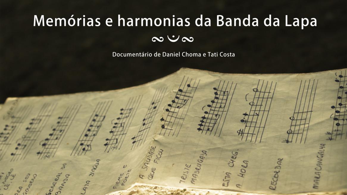 Livro DVD Memórias e harmonias da Banda da Lapa