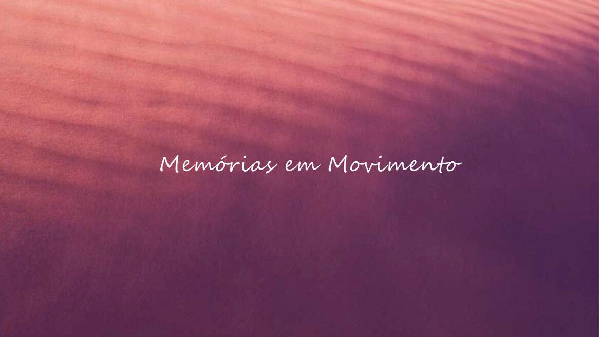 Livro DVD Memórias em Movimento